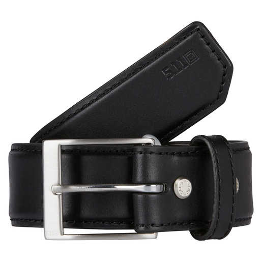 5.11 Men's Plain Leather Belts, Black
