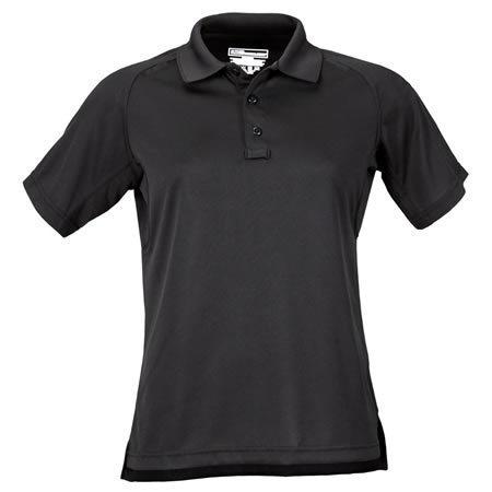 5.11 Women's Performance Polo Shirts, Short Sleeve, Black
