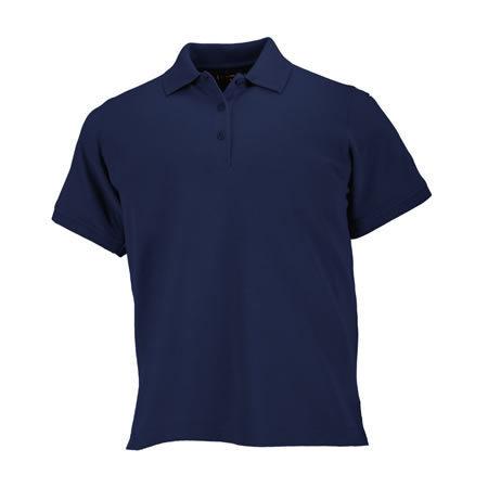 5.11 Women's Professional Polo Shirts, Short Sleeve, Dark Na