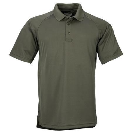 5.11 Men's Performance Polo Shirts, Short Sleeve, TDU Green