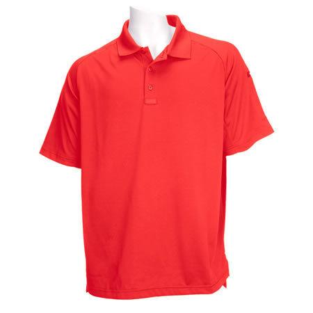 5.11 Men's Performance Polo Shirts, Short Sleeve, Range Red