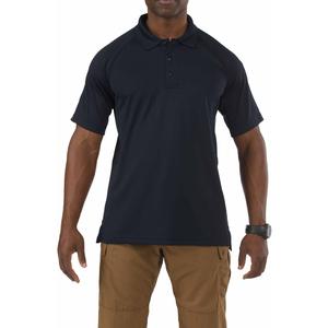 5.11 Men's Performance Polo Shirts, Short Sleeve, Dark Navy