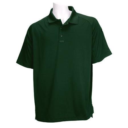 5.11 Men's Performance Polo Shirts, Short Sleeve, LE Green