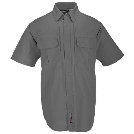 5.11 Men's Tactical Shirts, Short Sleeve, Grey