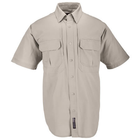 5.11 Men's Tactical Shirts, Short Sleeve, Khaki