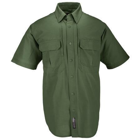 5.11 Men's Tactical Shirts, Short Sleeve, OD Green