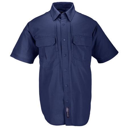 5.11 Men's Tactical Shirts, Short Sleeve, Fire Navy