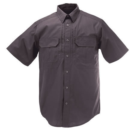 5.11 Men's Taclite Pro Shirts, Short Sleeve, Charcoal