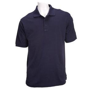 5.11 Men's Tactical Polo Shirts, Short Sleeve, Dark Navy