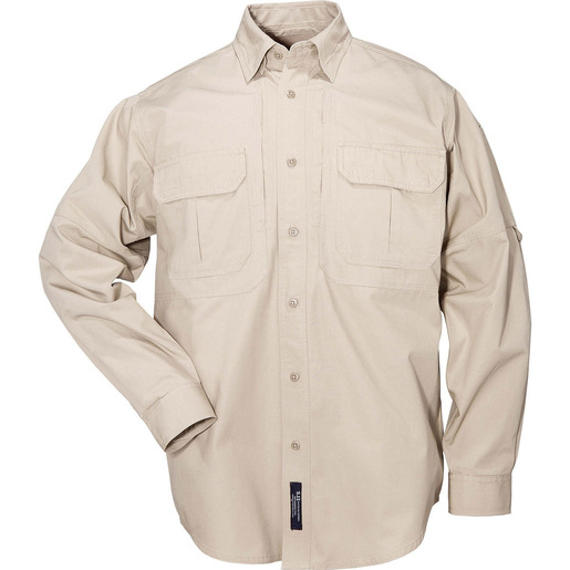 5.11 Men's Tactical Shirts, Long Sleeve, Khaki