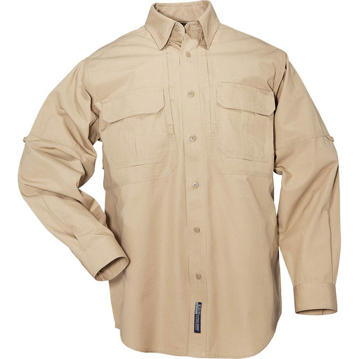 5.11 Men's Tactical Shirts, Long Sleeve, Coyote