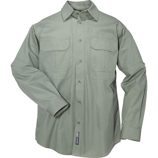5.11 Men's Tactical Shirts, Long Sleeve, OD Green
