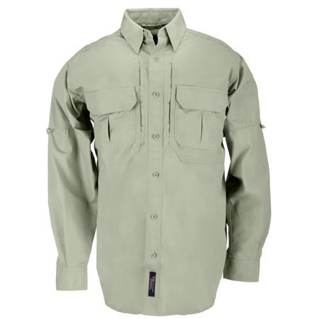 5.11 Men's Tactical Shirts, Long Sleeve, Sage