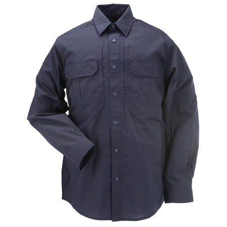 5.11 Men's Taclite Pro Shirts, Long Sleeve, Dark Navy