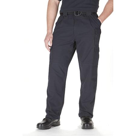 5.11 Men's Cotton Tactical Pants, Unhemmed, Fire Navy