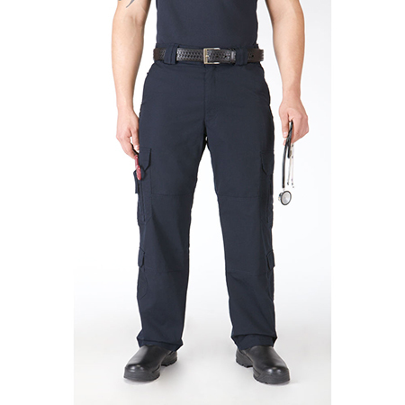 5.11 Men's Taclite EMS Pants, Unhemmed, Dark Navy