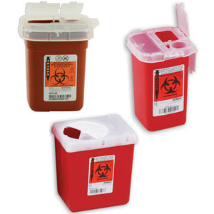 SharpSafety Phlebotomy Sharps Containers
