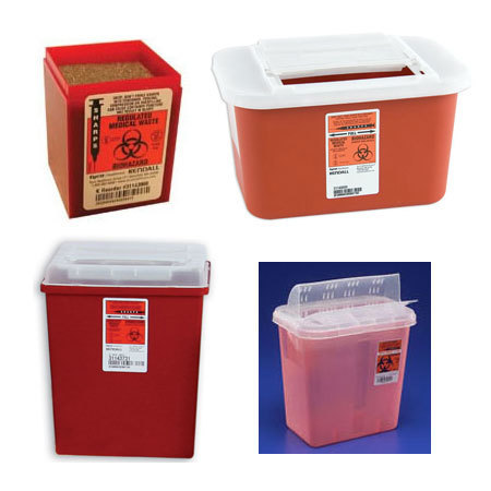 Sharps-A-Gator Multi-purpose Sharps Containers