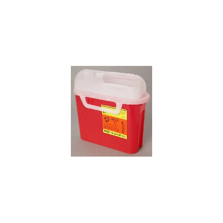 Patient Room Sharps Containers w/Counterbalanced Doors