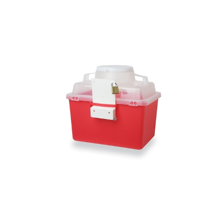 Multi-Use Nestable Sharps Containers
