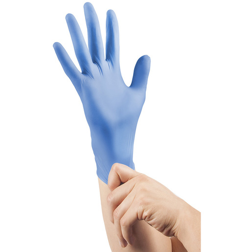 Curaplex® TritonGrip SE™ Gloves, Blue Nitrile