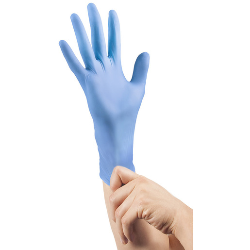 Curaplex® TritonGrip EC™ Gloves, Blue Nitrile