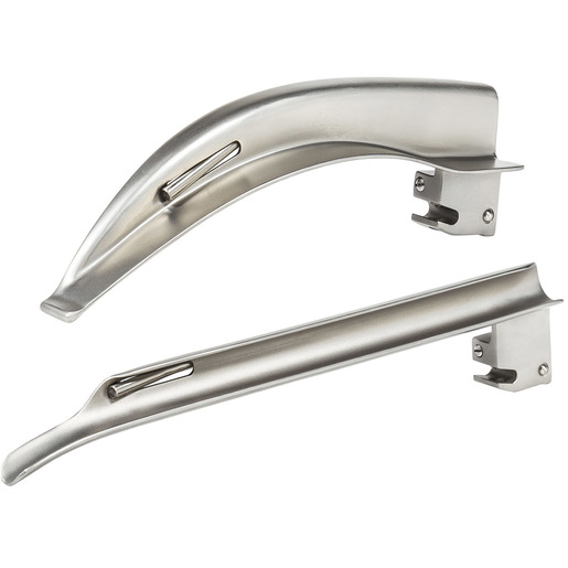 Curaplex® Green Spec Fiber Optic Laryngoscope Blades