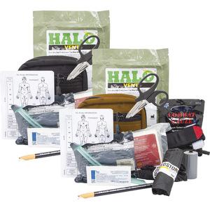 Curaplex Compact Responder Kit, Advanced, Level 2,w/C-A-T