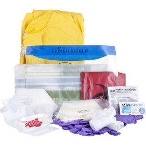 Advanced Infection Control Kit with Patient Belonging Bag