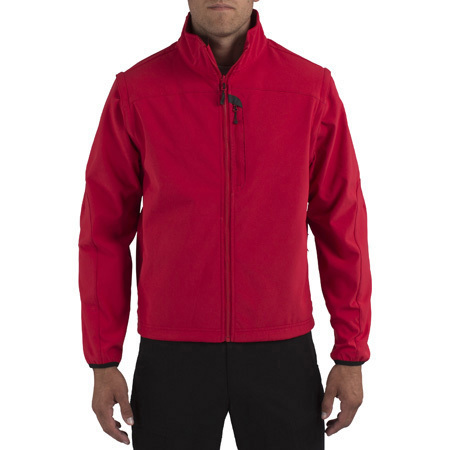 5.11, Jacket, Valiant Softshell, Range Red, Sizes SM to 4XL