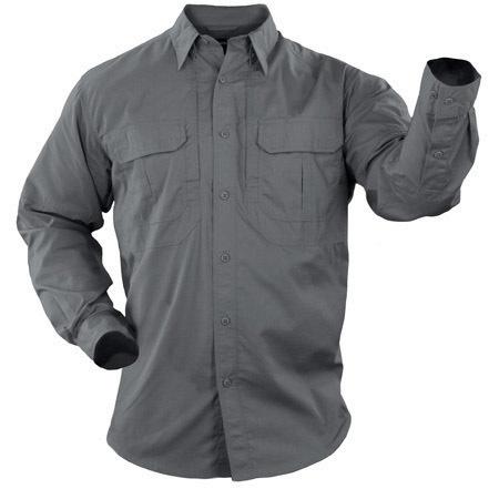 5.11 Men's Taclite Pro Shirts, Long Sleeve, Storm