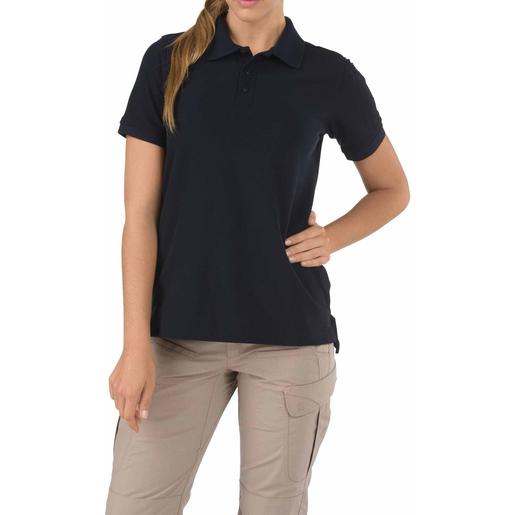 5.11 Women's Shirt, Utility Polo, Short Sleeve, Dark Navy