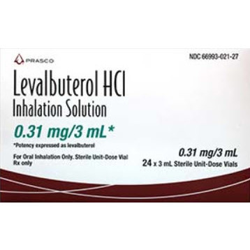 Levalbuterol