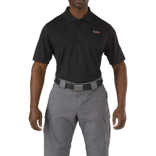 5.11 Pinnacle Polo, Short Sleeve, Men, Black