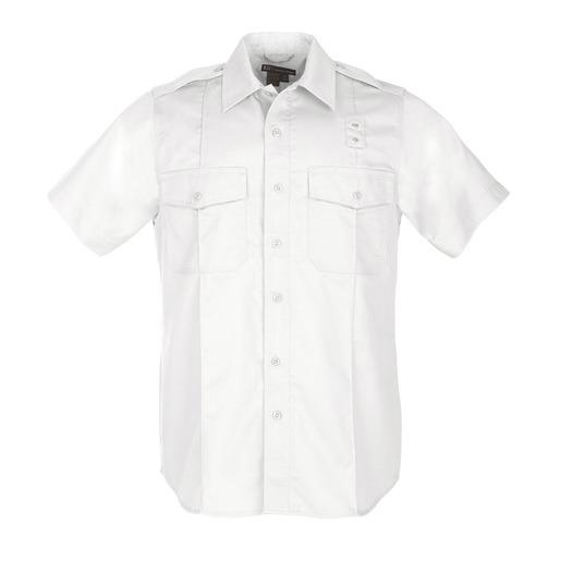 5.11 Men's PDU Twill Class A, Short Sleeve, White