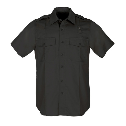 5.11, Shirt, PDU Twill Class A, Short Sleeve, Men, Black