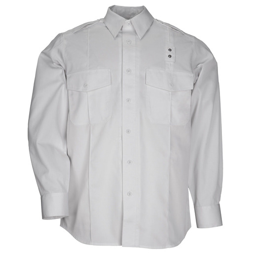 5.11, Shirt, PDU Twill Class A, Long Sleeve, Men, White
