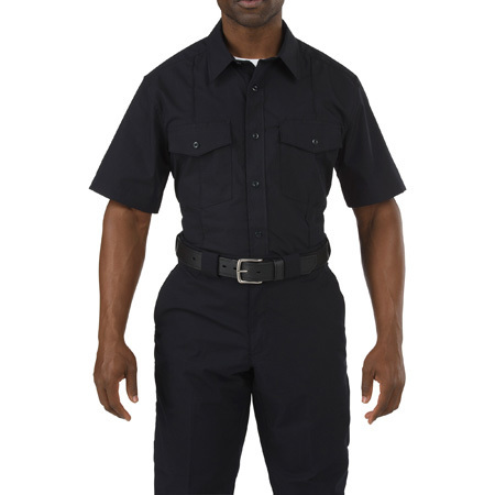 5.11 Men's Stryke PDU Class A Shirt, Midnight Navy
