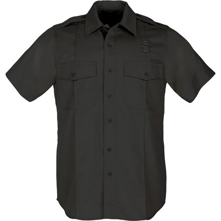 5.11, Shirt, PDU Twill A Class, Short Sleeve, Women, Black