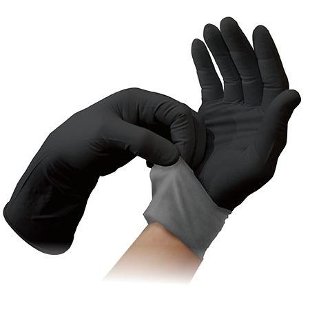 ApexPro™ XP100 Exam Gloves, Black/Gray