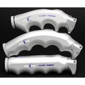 Laryngoscope Handles, Premium Pistol Grip, Dual LED