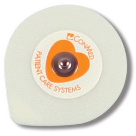 InstaTrace™ Foam Diaphoretic Wet Gel ECG Electrodes with Conductive Adhesive Gel