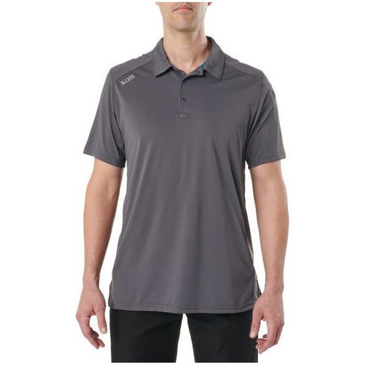 5.11 Paramount Polo, Short Sleeve Shirt, Men, Flint