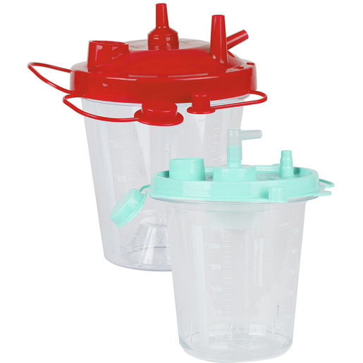 Curaplex® Disposable Hydrophobic Suction Canisters