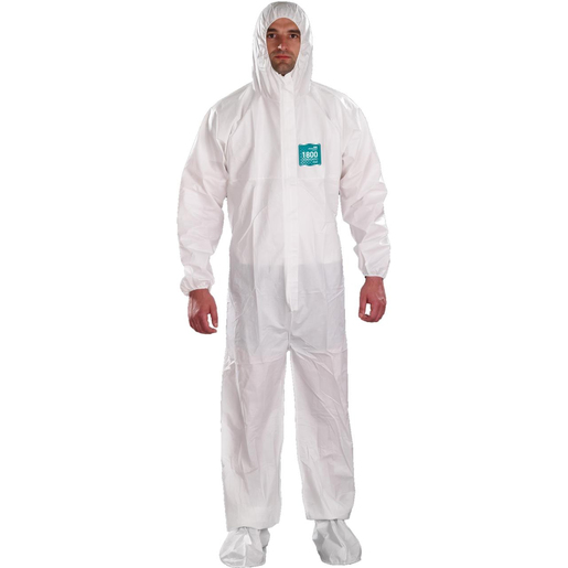 MICROCHEM® by AlphaTec™ 2000 Coveralls with Hoods & Boots