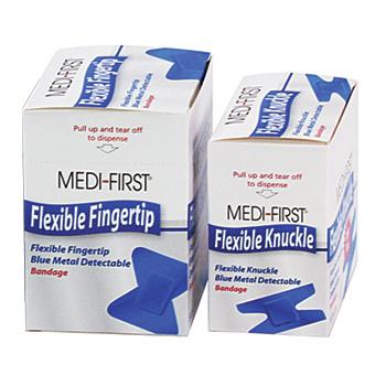 Medique Blue Metal Detectable Bandages