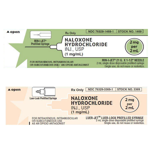 Naloxone Prefilled Syringes