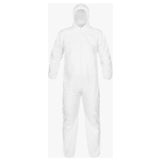 Coverall Micromax Hood and Elastic Wrist/Ankle