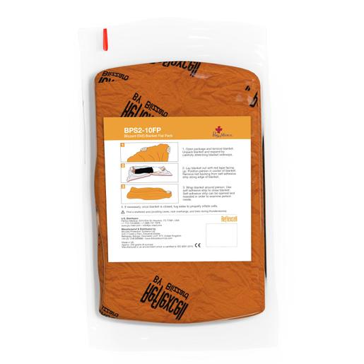 Blizzard EMS Trauma Blanket, Orange