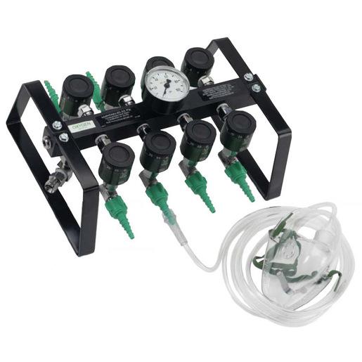 OCTI-FLO2™ Portable Emergency Oxygen Manifold, 8 Station